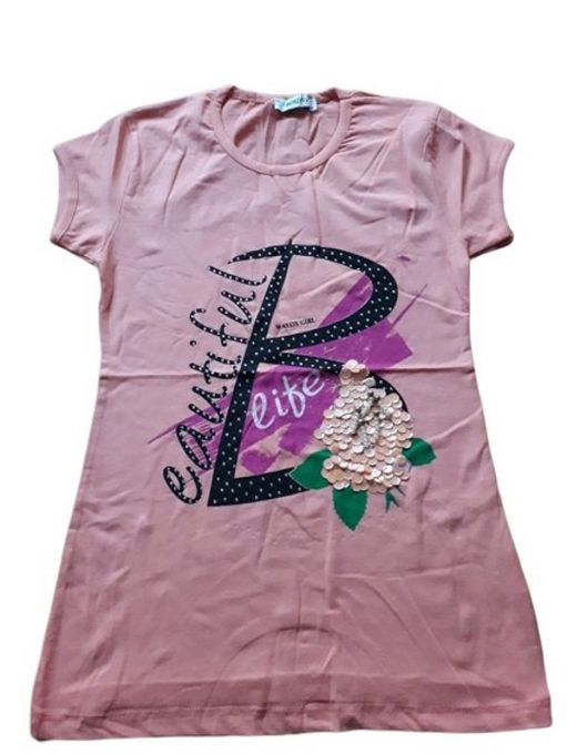 T-shirt Fille - Crevette