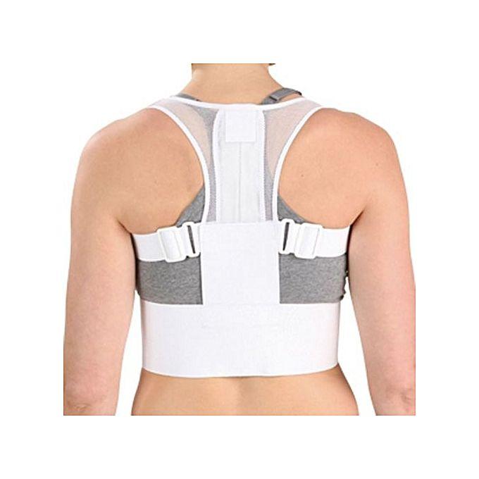 Correcteur De Posture Dos Épine Dorsale - Blanc