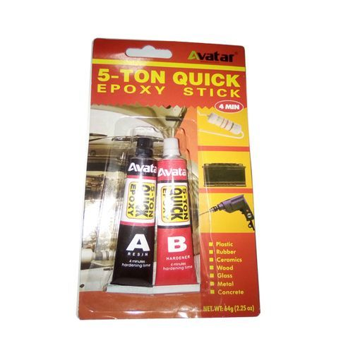 Colle Ab Epoxy Colle 2 Composants 5 Ton Quick Stick