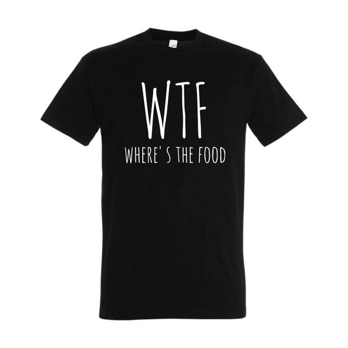 Bz T-Shirt Homme - Wtf - Noir