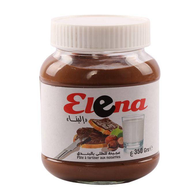 chocolaterie Elena Pâte À Tartiner 350 Gram  Elena Blanc