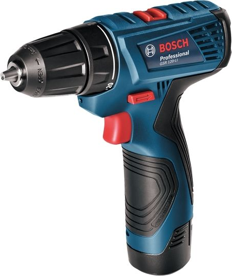 Bosch Perceuse-Visseuse Sans Fil - GSR 120-LI - Noir & Bleu