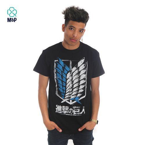 M&P T-Shirt Unisexe - ATTACK ON TITAN