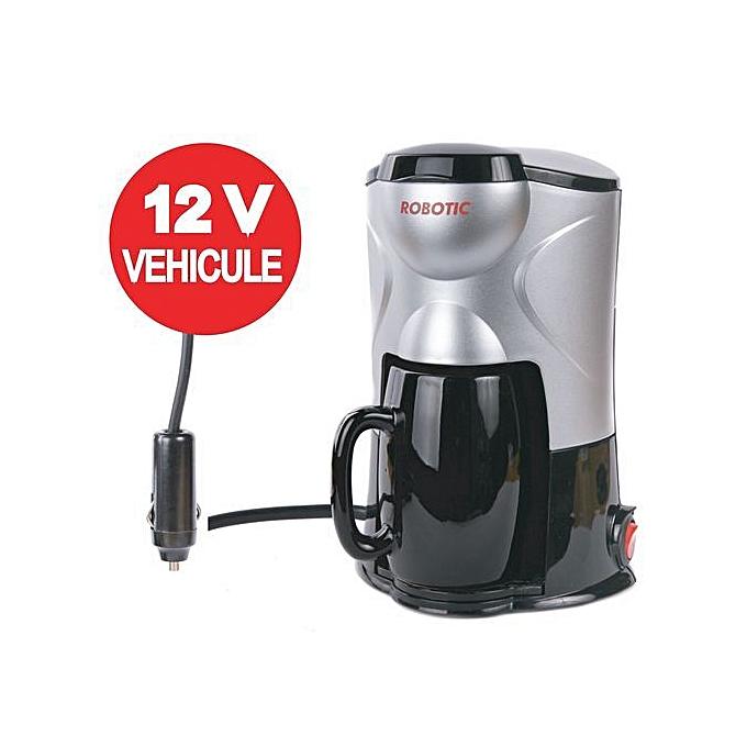 robotic cafeti re electrique pour voiture 12 volts 1 tasse prix pas cher jumia dz. Black Bedroom Furniture Sets. Home Design Ideas