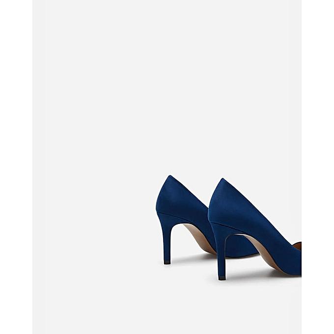 Lefties Femme Cher Jumia Chaussure À Pas Prix Talons Bleu Dz rawBqrtpx c1697d0c980