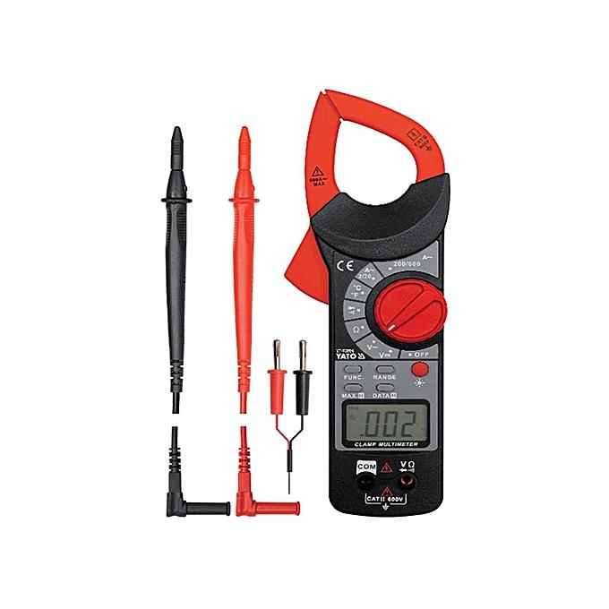 Pince Multimètre Professionnel YT 73091 Rouge