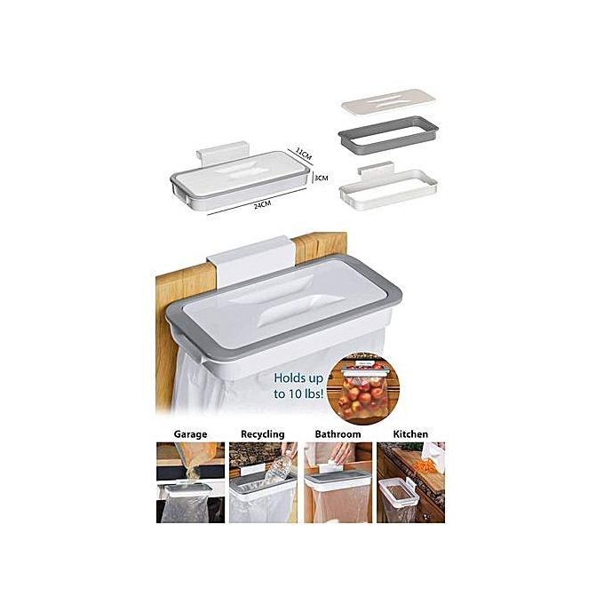Fantastique Sans Marque Porte-sac poubelle - Accrochant poubelle de cuisine IL-29