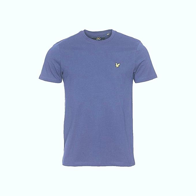 Sans Marque T-Shirt Homme - Bleu - Prix pas cher   Jumia DZ 3efc6de23d87