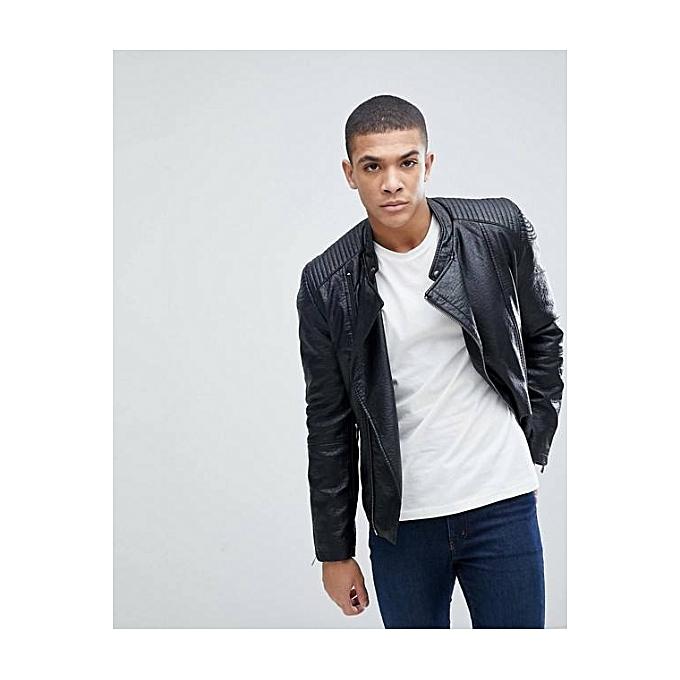 1780c14680d7 ... Mode Homme · Vêtements · Vestes et manteaux · Celio Blouson Motard -  Noir · Blouson Motard - Noir