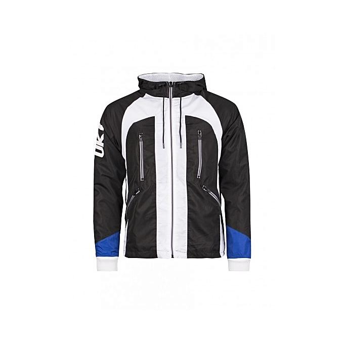 Ünkut Sweat-Shirt Homme - Hoody Sharp - Noir   Blanc - Prix pas cher ... 72471101f8b1