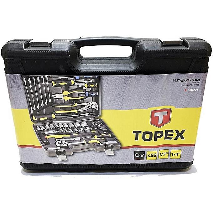 Topex Caisses à Outils - 56 Pièces - Prix pas cher | Jumia DZ